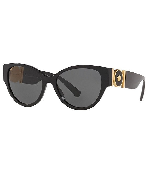 d2a2ccd22c Versace Medusa Medallion Light Weight Cat Eye Sunglasses