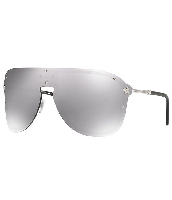 Color:Silver Mirror - Image 1 - Project Rock Icons Rimless Sunglasses