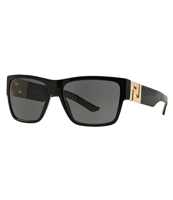 Color:Black - Image 1 - Rock Greca Sunglasses