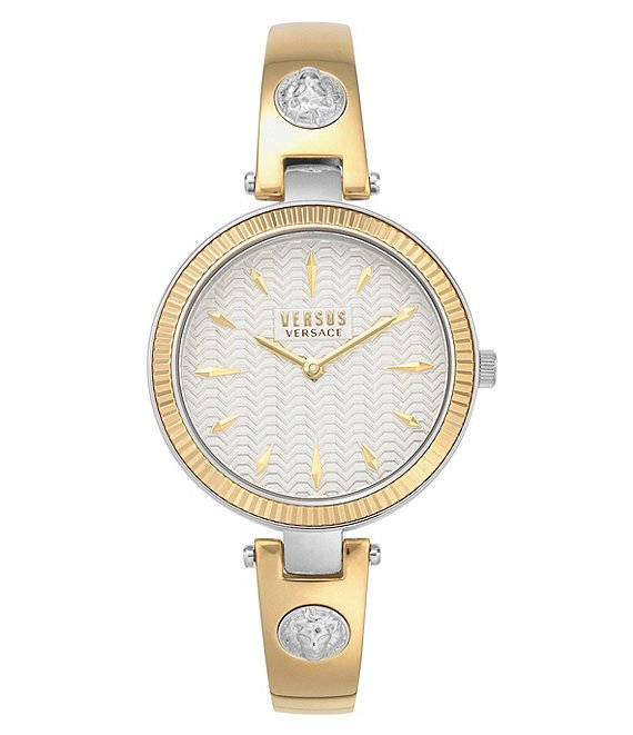 Color:Gold - Image 1 - Brigitte Gold Bangle Watch