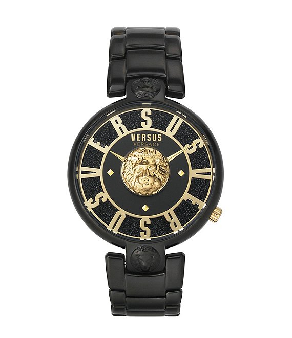 Color:Black - Image 1 - Women's Lodovica Black Bracelet Watch