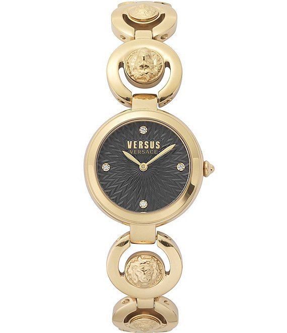 Color:Gold - Image 1 - Versus by Versace Women's Peking Road Gold Bracelet Watch