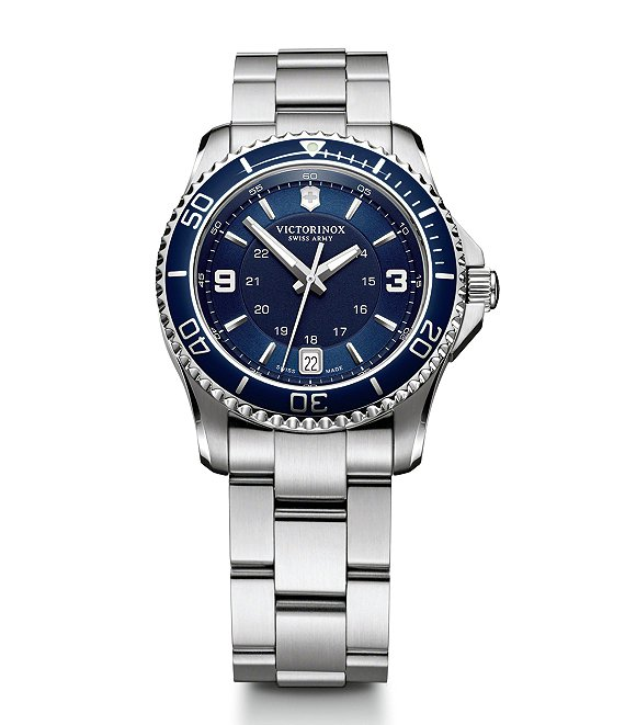 Color:Blue - Image 1 - Maverick Small Watch