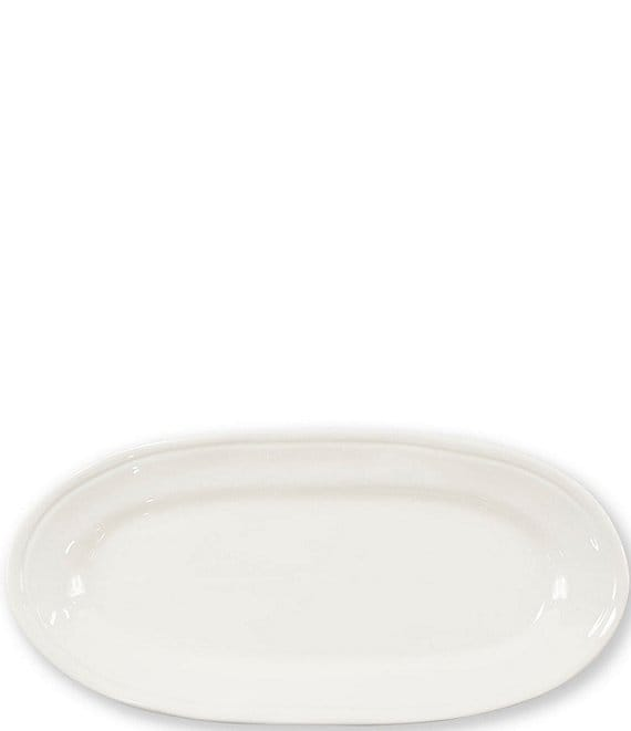 Color:Linen - Image 1 - Fresh Narrow Oval Platter