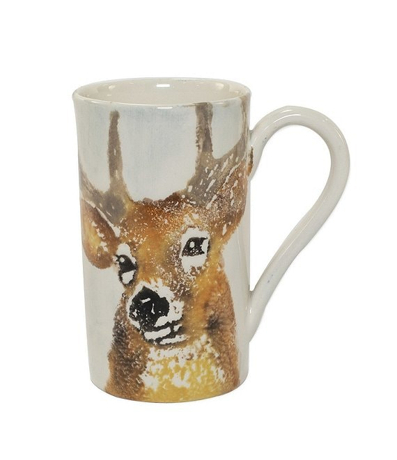 VIETRI Into The Woods Deer Mug