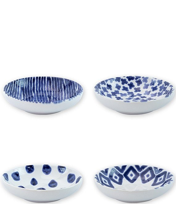 Color:Blue - Image 1 - Santorini Assorted Condiment Bowls Set of 4
