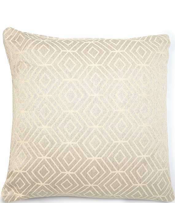 Color:Taupe - Image 1 - Chronicle Filled Euro Sham