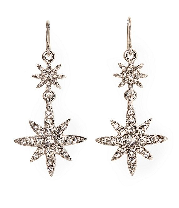 Vince Camuto Celestial Double Drop Earrings