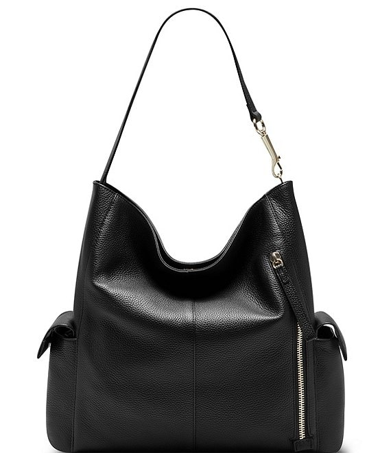 Color:Black - Image 1 - Garri Hobo Bag