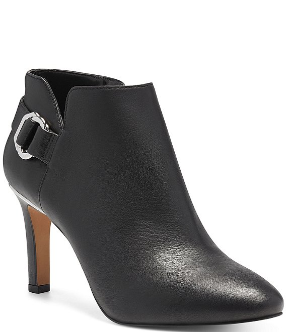 Color:Black - Image 1 - Leeva Leather Booties