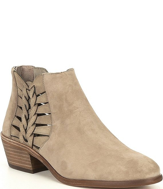 Vince Camuto Suede Side Cut Out Block