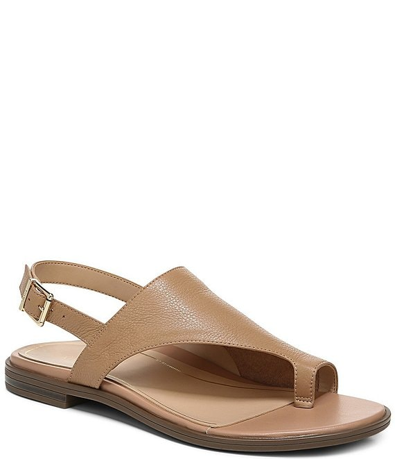 Color:Nude - Image 1 - Ella Thong Sandals
