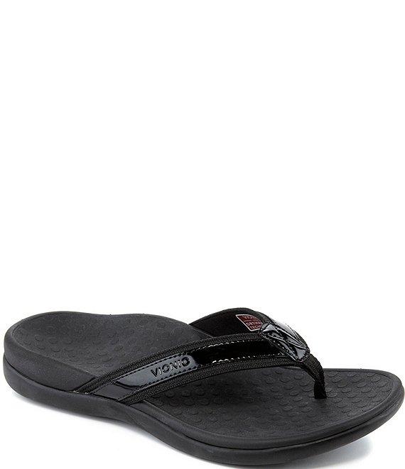 Vionic Tide Ii Leather Flip-Flops  Dillards-3775