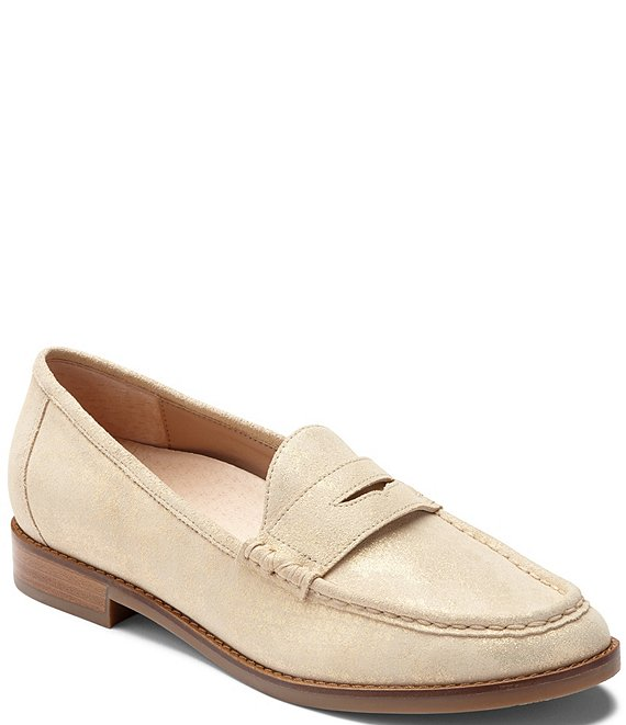 Vionic Waverly Leather Penny Loafers