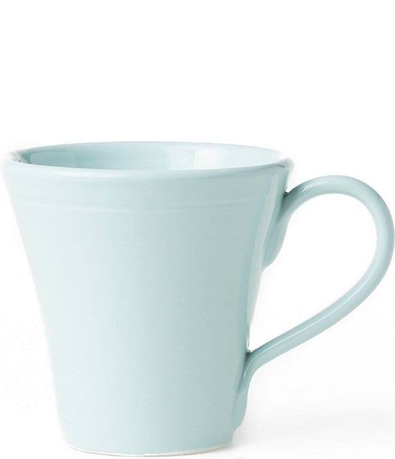 Color:Aqua - Image 1 - Viva by VIETRI Fresh Glazed Stoneware Mug