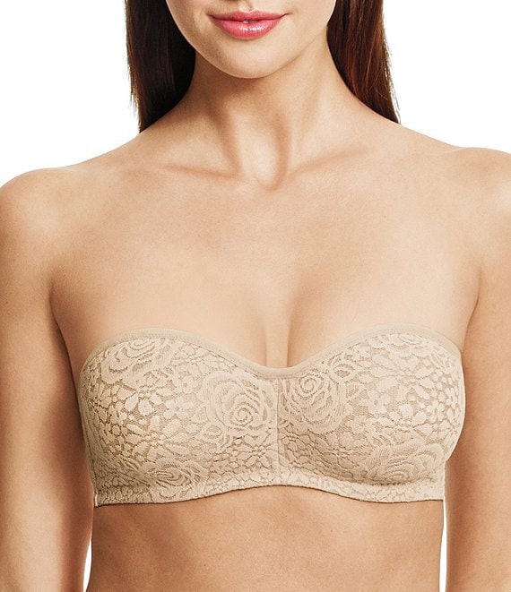 Color:Natural Nude - Image 1 - Halo Convertible Strapless Underwire Bandeau