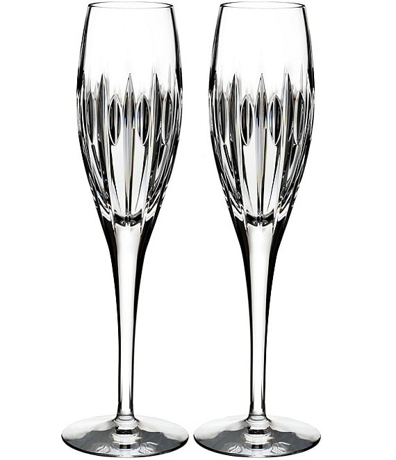 Waterford Crystal Mara Flutes, Set of 2