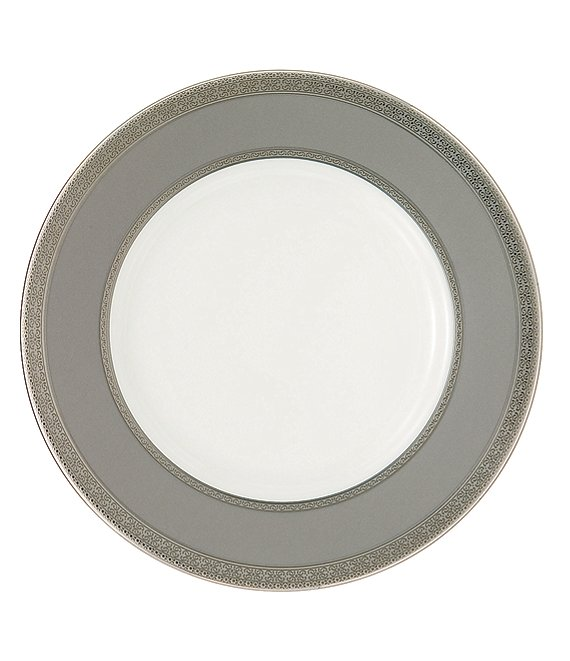 Waterford Newgrange Platinum Celctic Scroll Bone China Accent Salad Plate