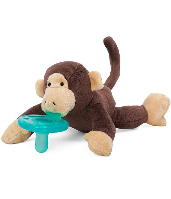 Color:Brown - Image 1 - Monkey Pacifier