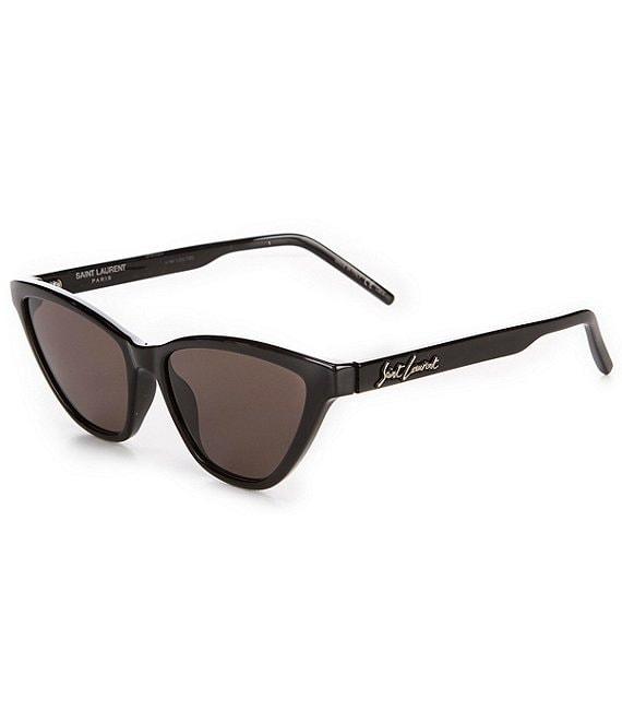 Color:Black - Image 1 - Cat Eye Sunglasses