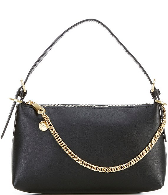 Color:Black - Image 1 - Posen Zip Top Crossbody Bag