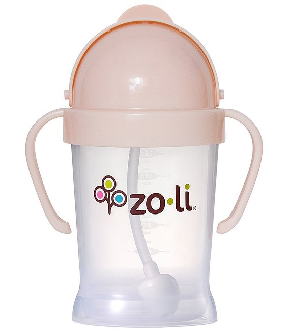 Color:Blush - Image 1 - BOT Weighted Straw Sippy Cup