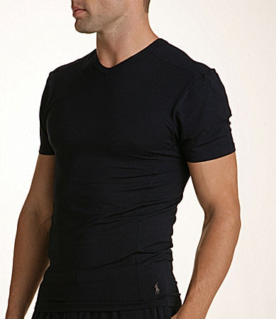 Polo Ralph Lauren Solid V-Neck Shirt