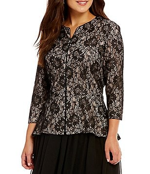 Plus-Size Formal & Evening Tops | Dillards