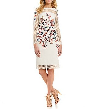 Antonio Melani Delia Fl Printed Sheath Dress