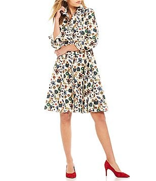Antonio Melani Emma Floral Print Dress Made With Liberty Fabrics