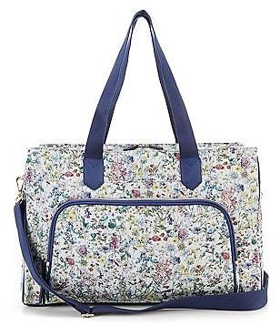 Antonio Melani Made With Liberty Fabrics Travel Colorblock Weekender
