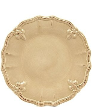 Artimino Beaded Fleur-de-Lis Earthenware Dinner Plate  sc 1 st  Dillardu0027s & Casual Plates | Dillards