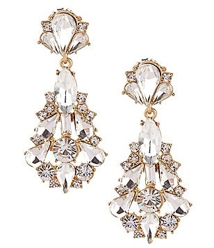 Womens chandelier earrings dillards belle badgley mischka jonette chandelier statement earrings aloadofball Choice Image