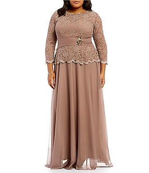 cachet women's plus-size dresses & gowns | dillards
