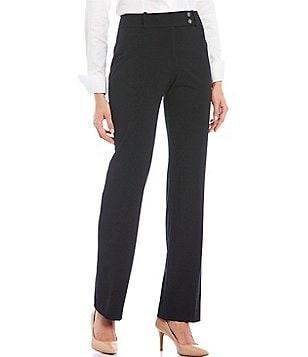 striped straight leg trousers - White Calvin Klein qwjsWPKue