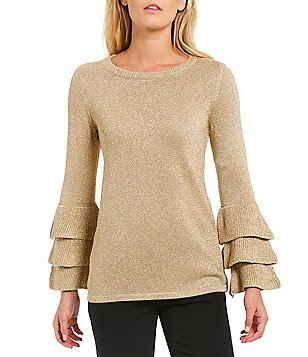 Womens Gold Sweater Fashion Skirts
