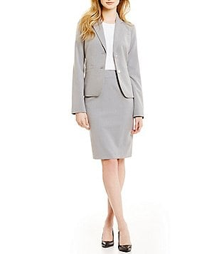 Calvin Klein Two On Suit Jacket Pencil Skirt