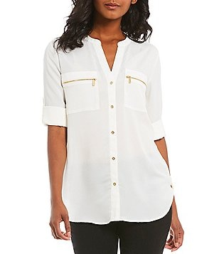women white blouses: Women's Clothing & Apparel | Dillards.com