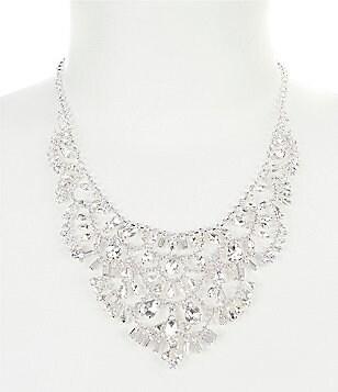 Bridal wedding necklaces dillards cezanne deco statement necklace junglespirit Gallery