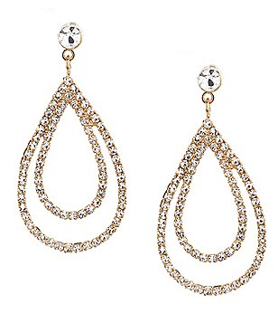 Cezanne Womens Crystal Rhinestone Jewelry Dillards