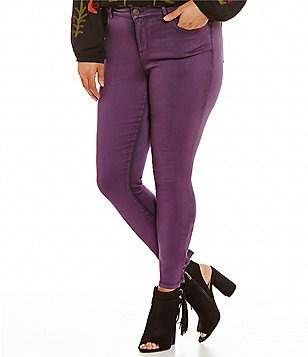 Purple Plus-Size Jeans & Denim   Dillards