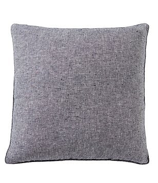 cremieux oversized linen twill square pillow