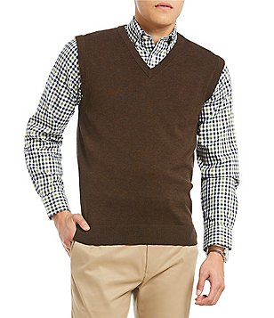 Brown Men's Sweater Vests | Dillards