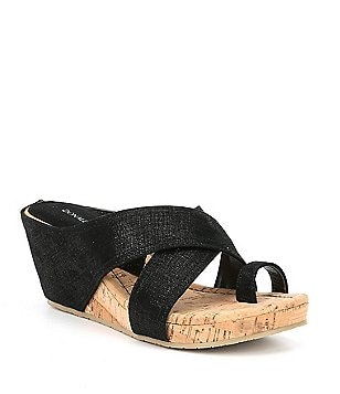 Donald Pliner Lou Stretch Platform Sandals