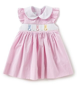 Baby girl clothing dillards edgehill collection baby girls 3 24 months easter bunny dress negle Gallery