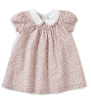 Edgehill Collection Baby Girls Newborn-24 Months Made With Liberty Fabric Dress
