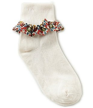 Edgehill Collection Betsy Ann Printed Socks Made with Liberty Fabrics