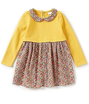 Edgehill Collection Little Girls 2T-4T Made With Liberty Fabrics Dress