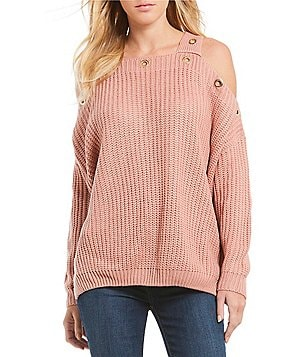 Womens Exposed Shoulder Sweaters | Dillards