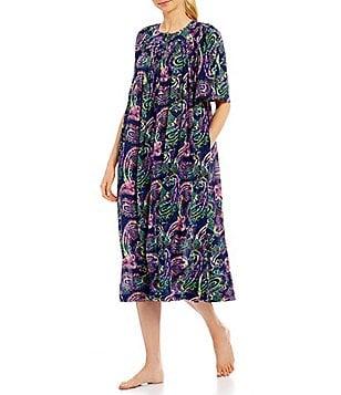Go Softly Paisley Patio Dress